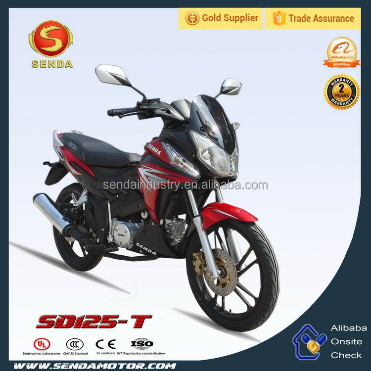 China Classic Hot Sale 125CC Cub Motorcycle SD125CC