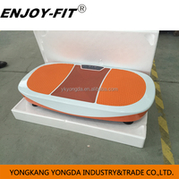 2015 gym equipment names vibration plate exercise machine