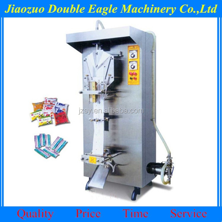 Automatic water milk Form Fill Seal liquid packing machine/plastic bag water packaging machine