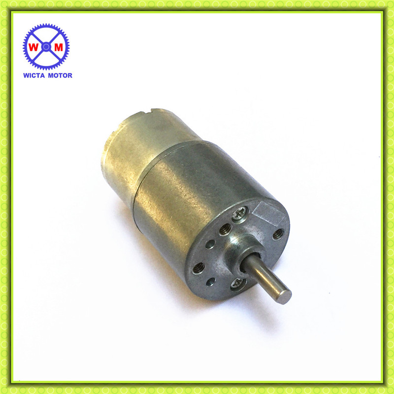Vending machine 30RPM dc 12 v gear motor with small 27mm diameter metal gearbox