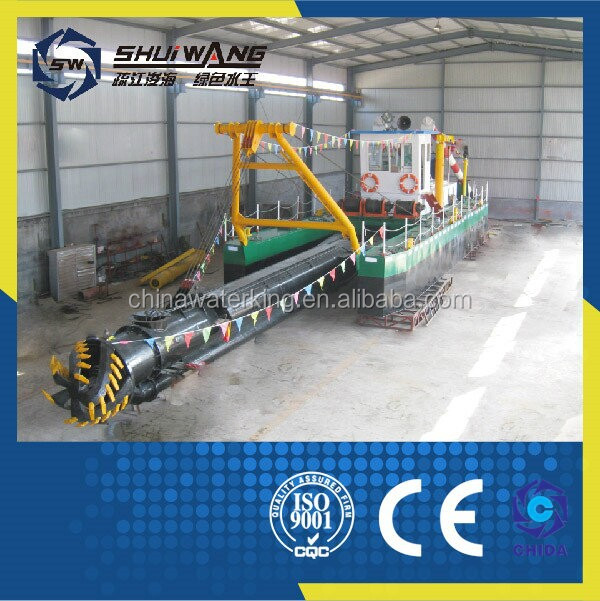 SW used cutter suction dredging machine /gold sand mining dredge /dredger for beach dredging on sale