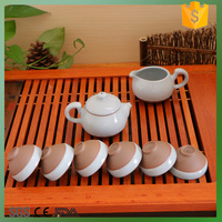 earthware glazing 8pcs teaset