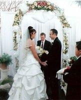 RP round wedding pipe and drape