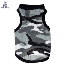 Hot sale pet appreal camouflage pet dog clothes for summer