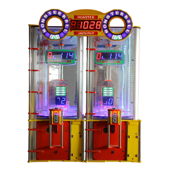 Elong reward game machine Monster Jackpot prize gift machine coin operated toys claw machine