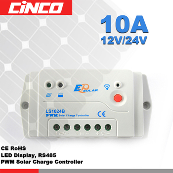 price solar charge controller pwm 10A 12V24V