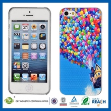 Fahionable Design Full Cover matte pc case for iphone 5