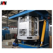 10 ton electric Induction Furnace for iron Scrap Melting