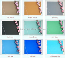 3-12mm, Colored, Coloured, Solar Control, Tinted Float Glass