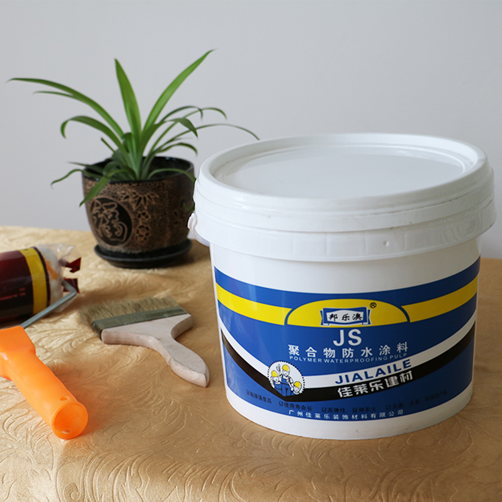 Double component js polymer cemented liquid waterproof coating