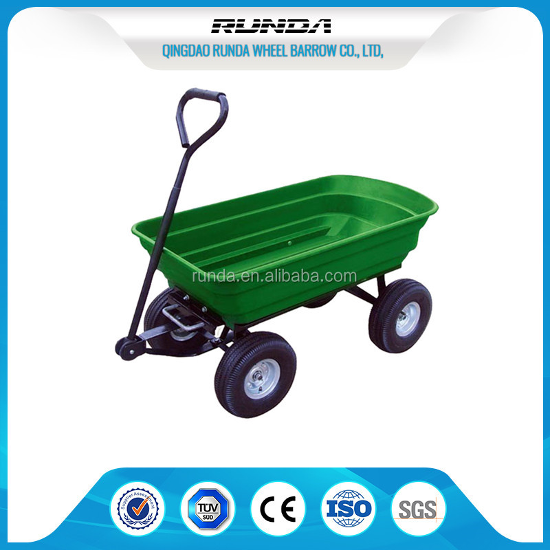 Plastic tray garden use tool cart