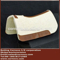 Blue Horse Saddle Pad Horse Equipment Product Comfortable