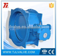 double offset ansi/din ci & di butterfly valve risilient seat water use