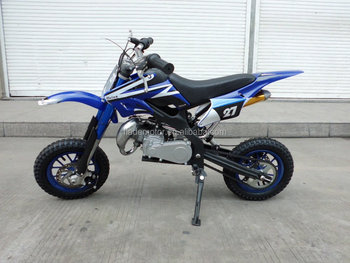 50cc mini dirt bike (blue)