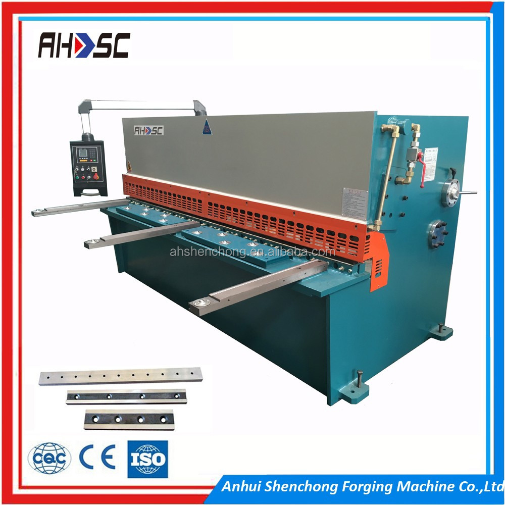 8 x 2500mm Bosch valve cnc pendulum shearing machine with high quality with good after sale service