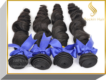 Top 8A Lower price loose body 100% virgin indian remy hair product
