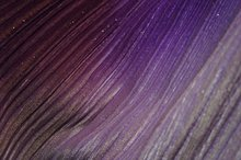 SPANDEX VELVET OMBRE PLEATED METALLIC