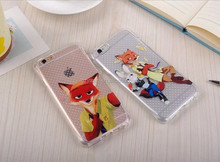 Clear TPU case with cartoon animal tattoo for iPhone 5 5S phones / best seller for iPhone 5 TPU animal case