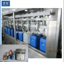 Barrel Engine Oil Filling Machinery Production Line/Barrel Engine Oil Complete Filling Line Price
