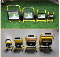 portable flood lights with stand rechargeable portable led flood work light adjustable