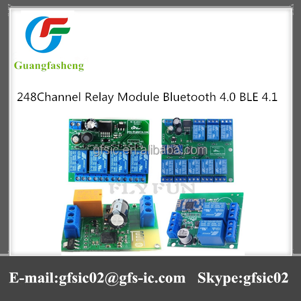 Good condition Bluetooth 4.0 BLE 4.1 2/4/8 Channel Relay module