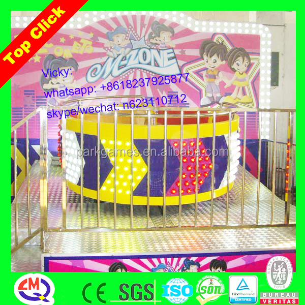LED light decorated amusement park rides tagada for sale