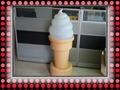 OEM Cheap Ice-Cream Plastic tank blow molding Display billboards