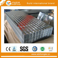 2016 new Supply GI/GL/PPGI/PPGL corrugated roofing steel plate