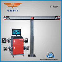 Patent manual wheel alignment equipment for car service with LCD display and vehicle light design VT300D