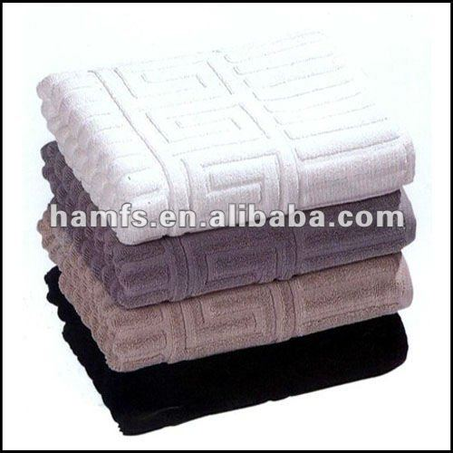Good quality home jacquard towel