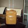 New Arrival Yellow Trolley Bag Luggage