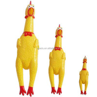 Christmas gift funny sound squeeze screaming chicken toy vent chicken screaming chicken