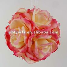 "6"" wedding decoration rose kissing ball"