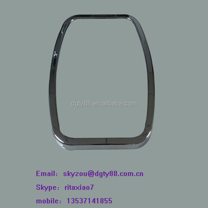 vacuum formed thick sheet film plastic rectangle frame oem factory
