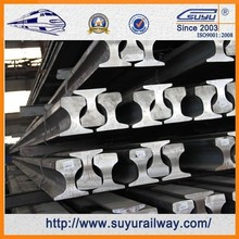 Suyu U71Mn railroad tracks steel heavy rail prices for sale