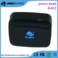 2016 new arrival power bank emitting logo