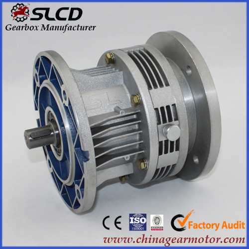 WB series cycloidal Speed reducer for dyeing machine plastic