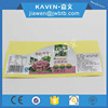 Private design pvc food grade stickers for packaging