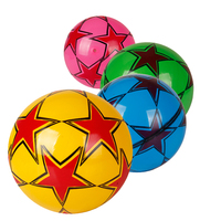 22cm size printed inflatable pvc bouncing hopper ball kids baby toys ball sports pvc bounce ball