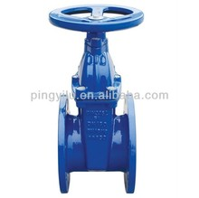 soft sealing resilient seated water gate valve with prices taobao