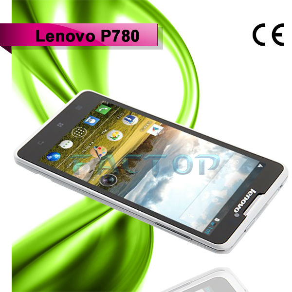 P780 Original Lenovo Brand New Hot Sale Dual SIM Mobile Phone 4GB ROM 1GB RAM Android