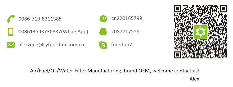 Alto Desempenho do Filtro de Ar para Liugong 855N 40C5854 100796 af26557 af26558