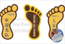 commercial floor sticker for supermarket or shopping mall, China factory-made price