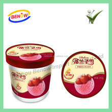 Ice Cream Cups In Mould Label / IML
