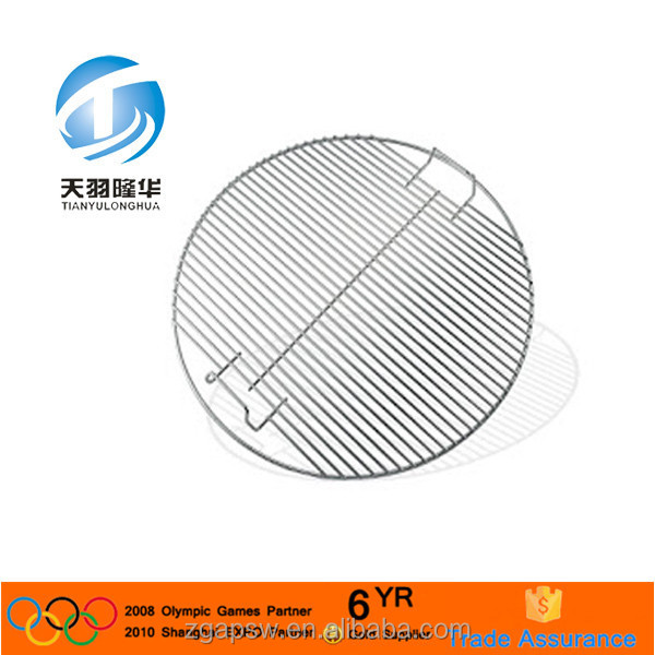 Round Shape Stainless Steel 316 Barbecue Grill Mesh