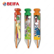 KE130500 China Factory Beifa 4 color retractable ball point pens