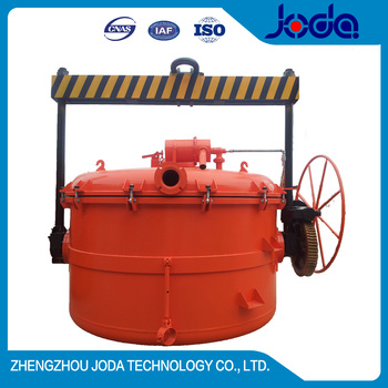 Christmas promotion warm-retaining liquid aluminum vaccum extractor for metallurgy