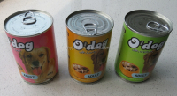 Beef canned pet food
