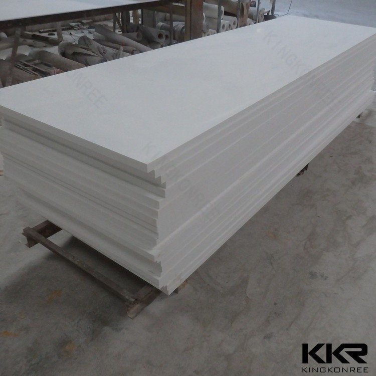 Big Slab Artificial Stone Solid Surface Polymer Modified Acrylic Sheet