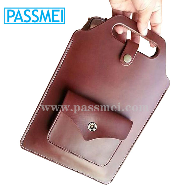 Customized leather sleeve for ipad air case